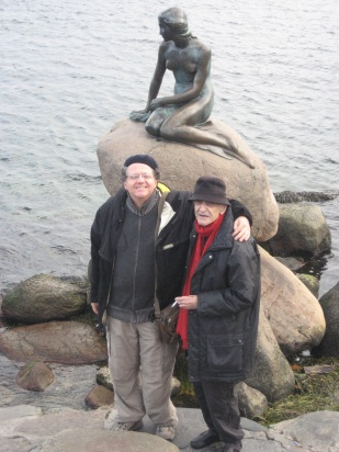 Harold Rubin and I in Copenhagen